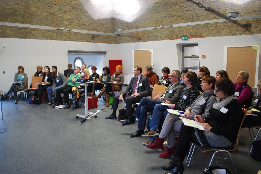 """Workshop im Rahmen der Fachtagung """"Nachwuchssicherung – Chancen durch Integration benachteiligter Jugendlicher in Ausbildung"""""""