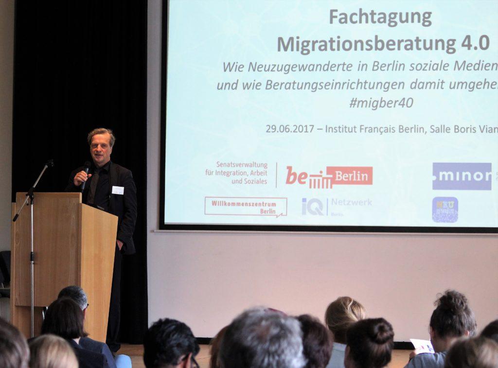 Keynote Andreas Germershausen, Beauftragter des Berliner Senats für Integration und Migration