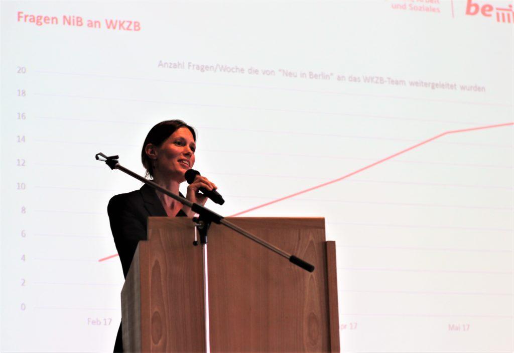 Nele Allenberg, Willkommenszentrum Berlin