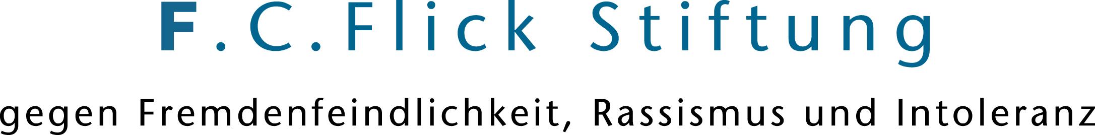 Logo der F.C. Flick Stiftung gegen Fremdenfeindlichkeit, Rassismus und Intoleranz