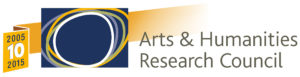 Logo des Arts and Humanitites Research Council