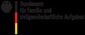 Logo des Bundesamtes für Familie und zivilgesellschaftliche Aufgaben
