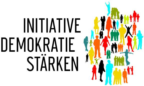 Logo der Initiative Demokratie stärken