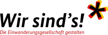 Logo des Schwerpunktjahres Teil haben, Teil sein: Partizipation in der Einwanderungsgesellschaft
