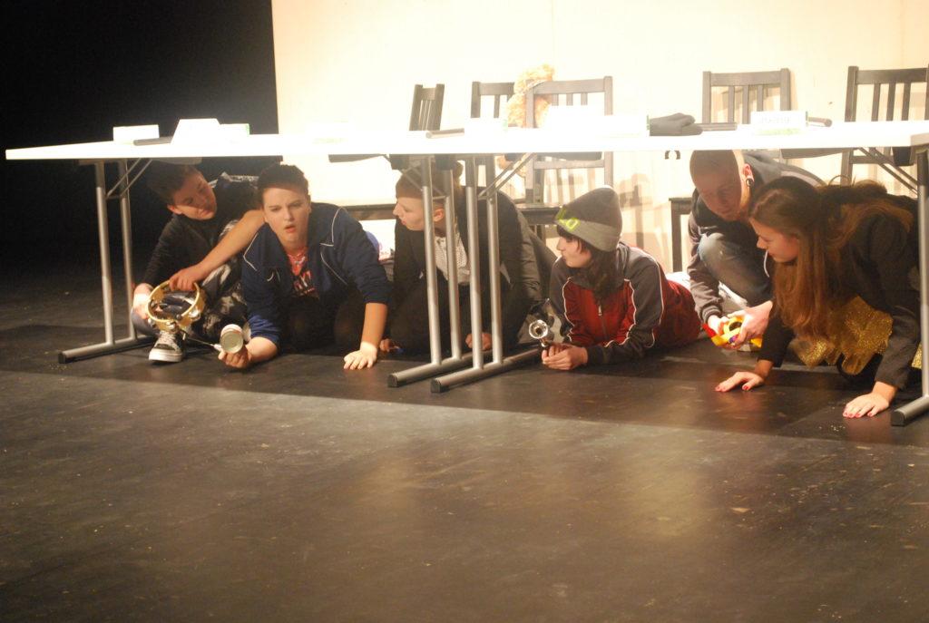 """Aufführung """"Unter Deck"""" bei der Frontaldiskurs Abschlussveranstaltung 2015"""
