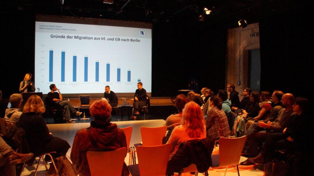 Podiumsdiskussion bei der Veranstaltung Great Berliners 2017