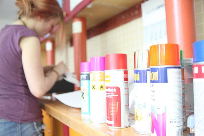 Eine Teilnehmerin des Teilprojektes
