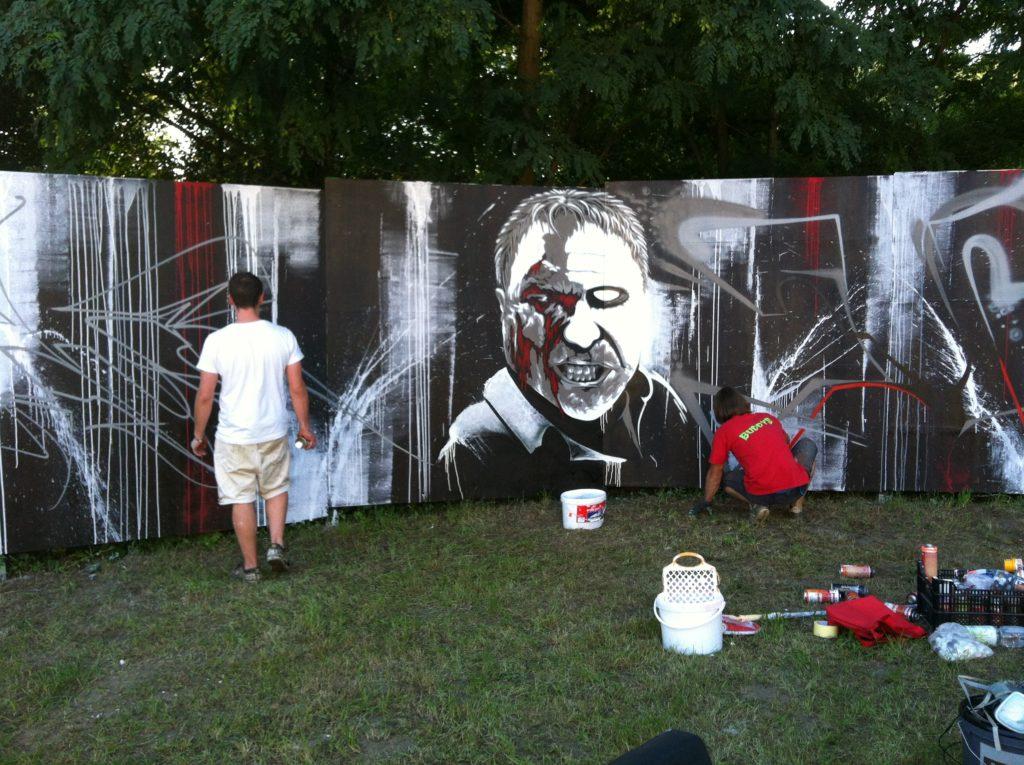 Graffiti Im Rahmen des Teilprojektes