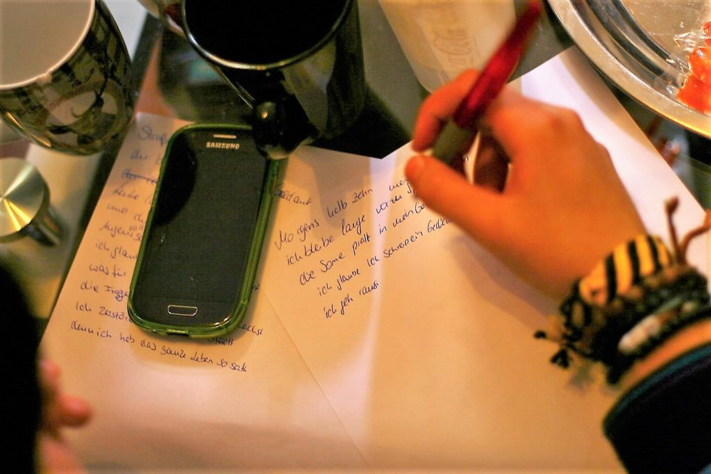Text schreiben