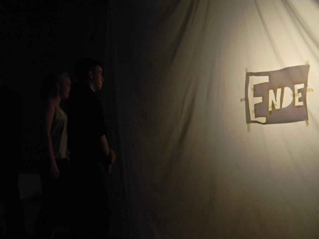 Schattentheater im Rahmen des Teilprojektes