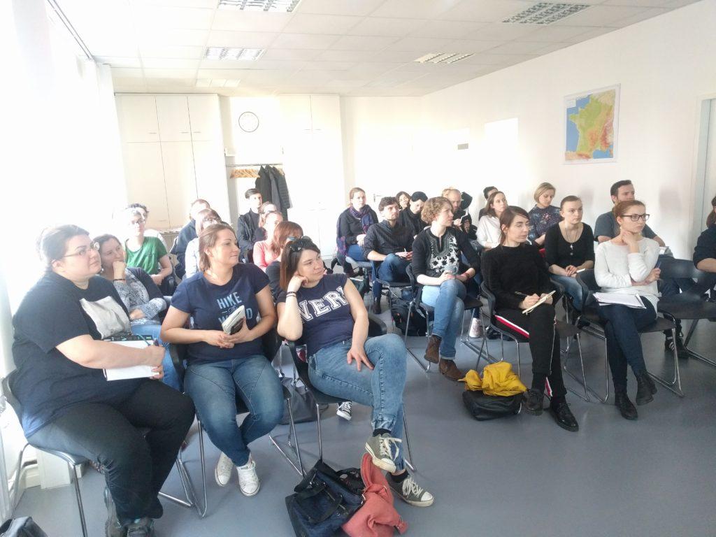 Teilnehmerinnen und Teilnehmer des Seminars