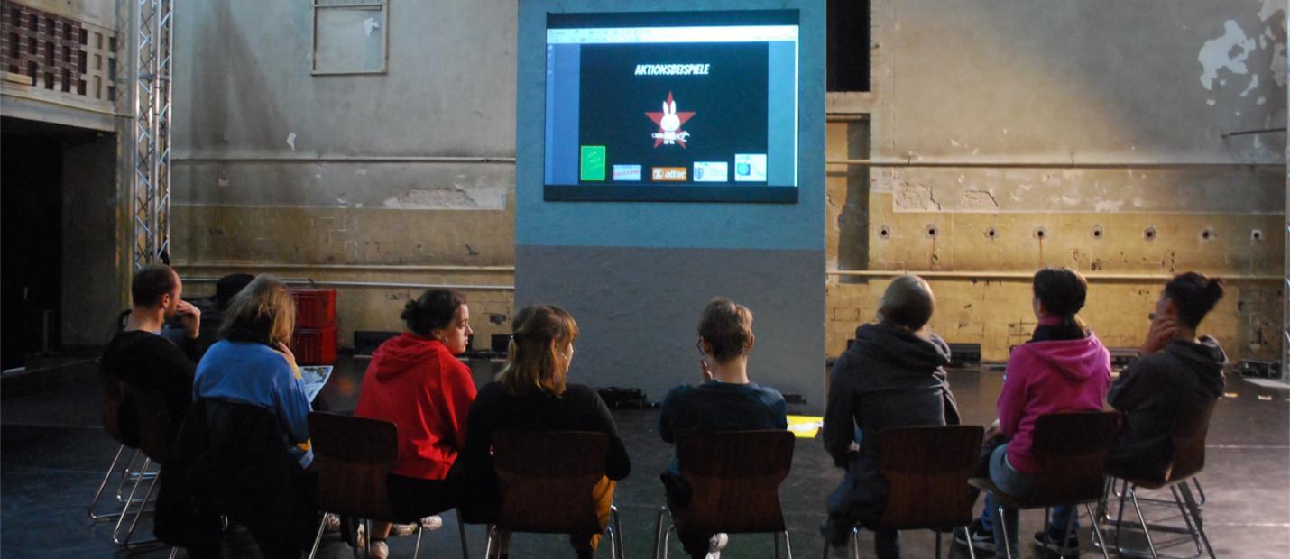 Workshop zu kreativen Protestformen