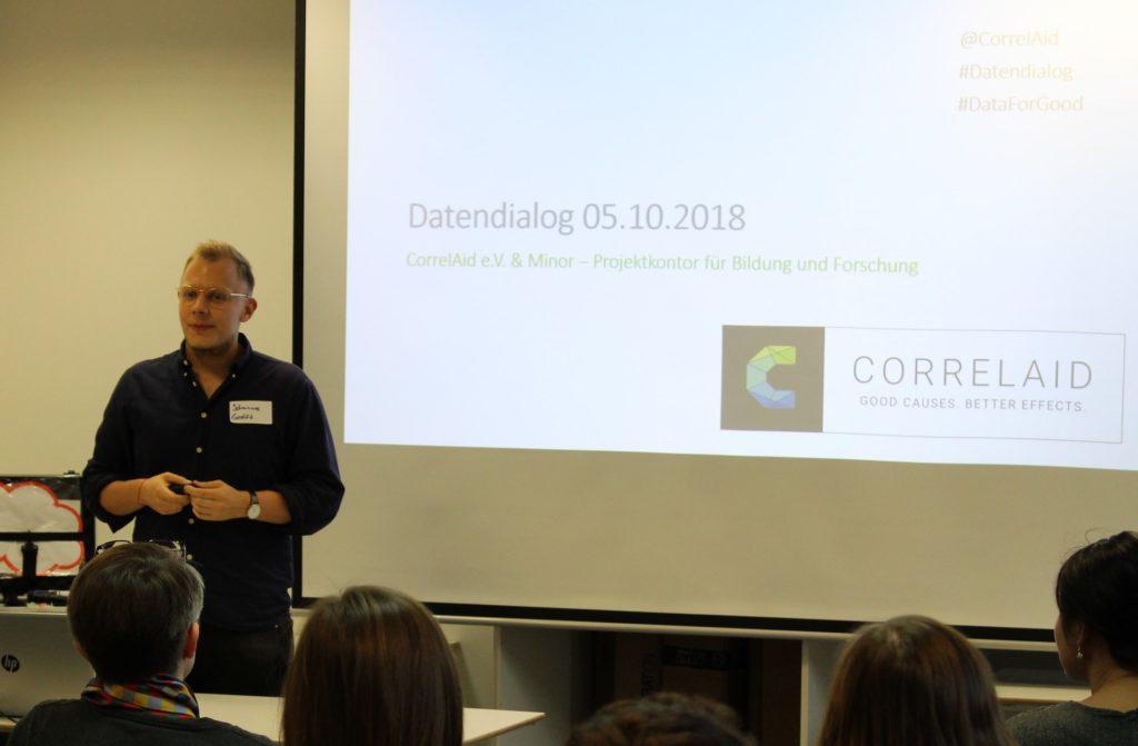 Vortrag von Johannes Müller, CorrelAid