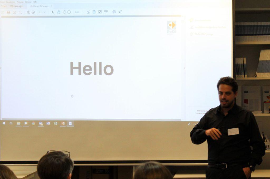 Vortrag von Fadi Zaim, RediSchool