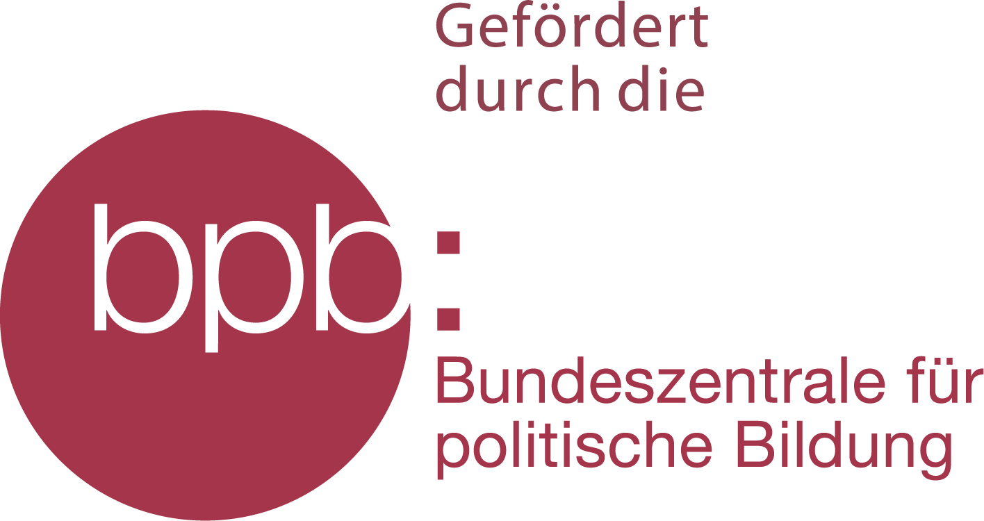 Logo: Bundesyentrale f`r politische Bildung