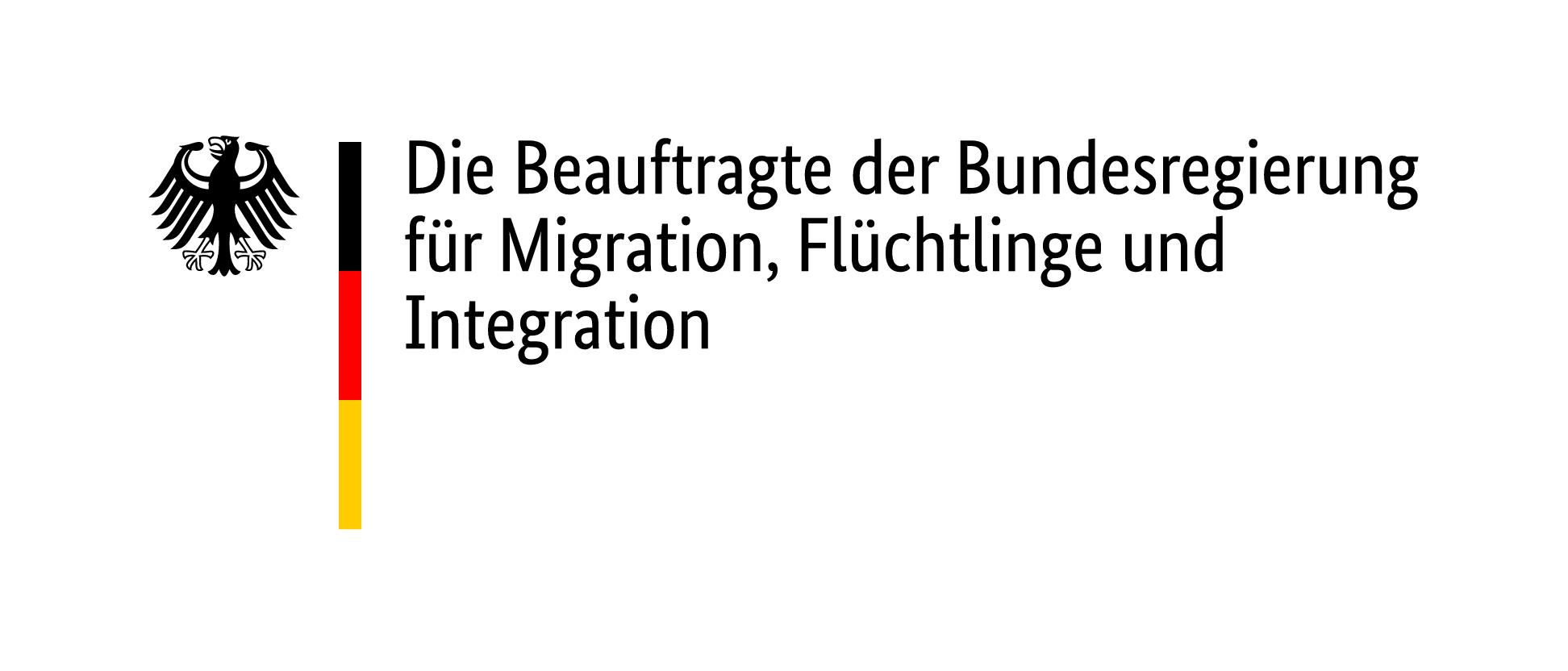 Logo Die Beauftragte der Bundesregierung für Migration, Flüchtlinge und integration