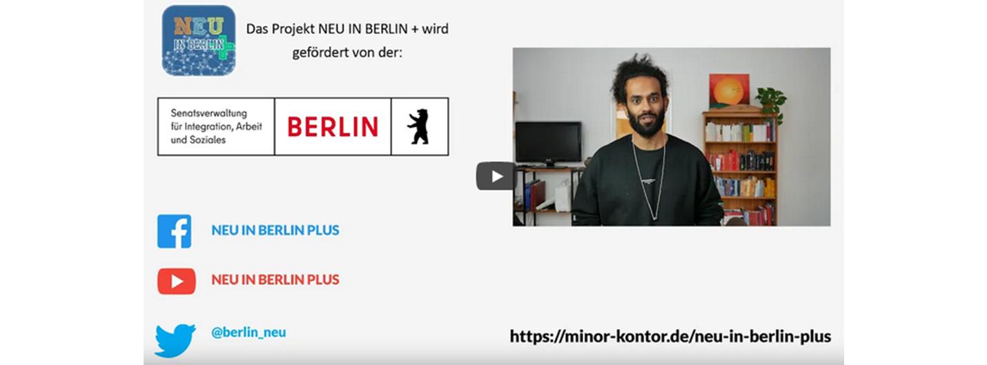 Video über die Arbeit des Projektes Neu in Berlin Plus