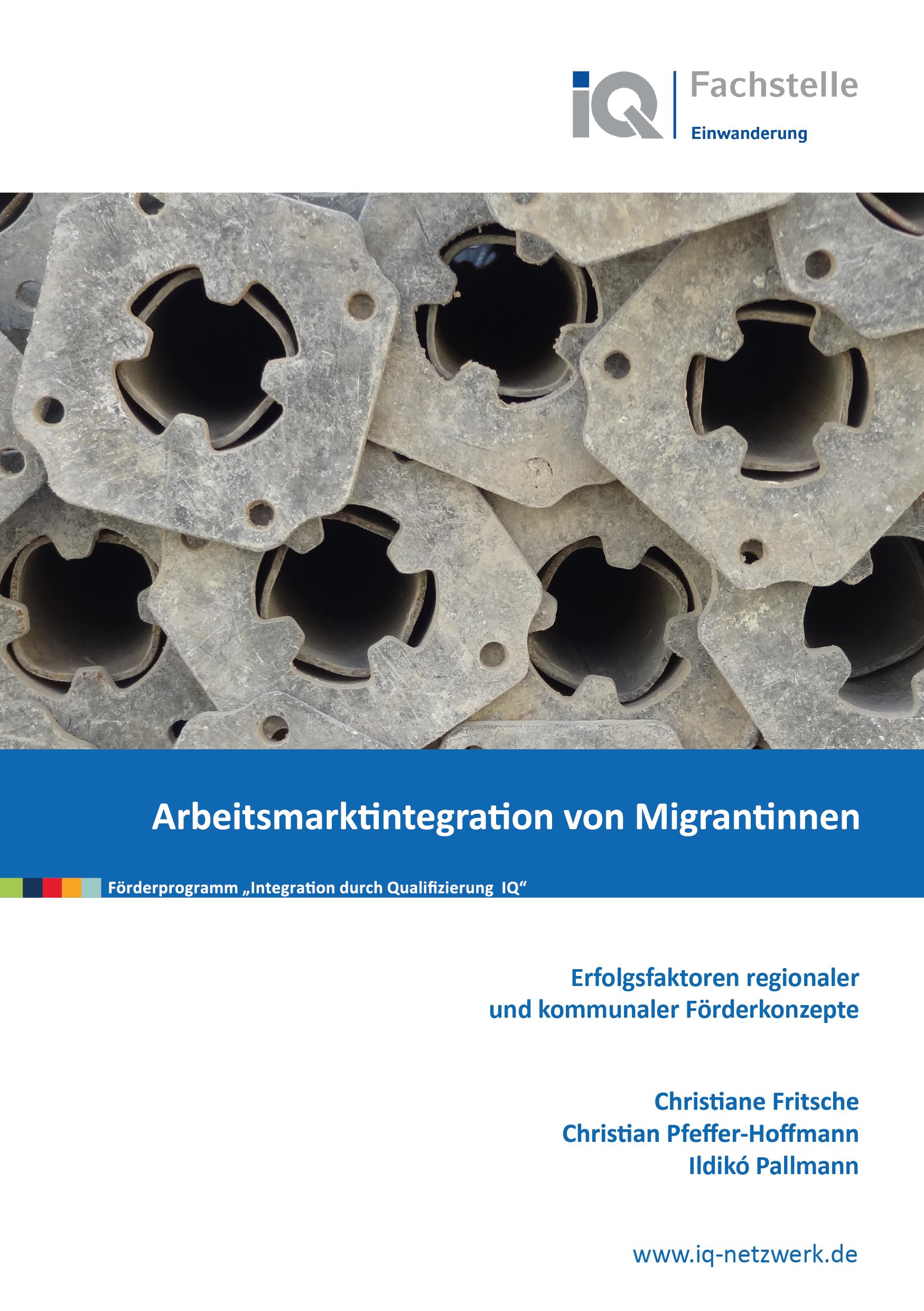 Cover der Publikation Arbeitsmarktintegration von Migrantinnen 2021